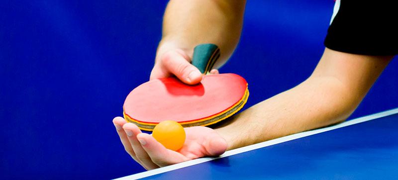 Подачи в любительском настольном теннисе