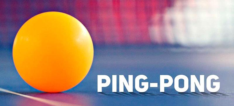 Правила игры в настольный теннис (пинг-понг)