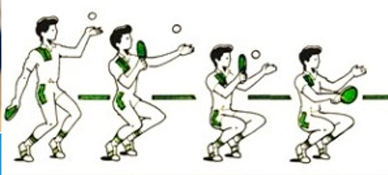 Хитрые подачи в настольном теннисе